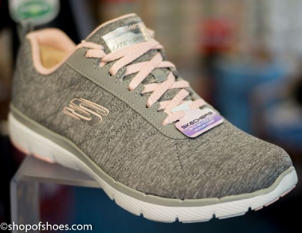 Skechers Flex appeal 3 with air cooled memory foam